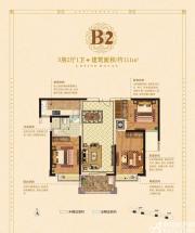 丽丰一品B23室2厅111㎡