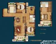 皖新翡翠庄园Y2户型4室2厅110㎡