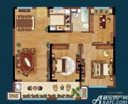 皖新翡翠庄园A2户型3室2厅90㎡