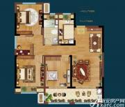 皖新翡翠庄园A3户型4室2厅105㎡