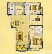 佳源中央城C2户型4室2厅120.37㎡