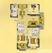 佳源中央城C4户型3室2厅124.99㎡