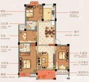 志城江山郡H8#/10#楼E2户型4室2厅107.91㎡