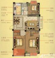 志城江山郡H11#楼A户型3室2厅93.92㎡