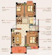 志城江山郡H11#楼C户型3室2厅83.2㎡