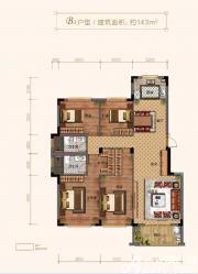 玉兰轩B34室2厅143㎡