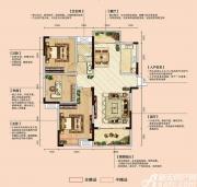亿景海棠湾D2-1户型3室2厅112.47㎡