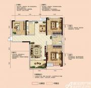亿景海棠湾C-1户型3室2厅101.26㎡