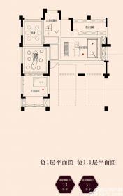 保利西山林语330㎡别墅负一层330㎡