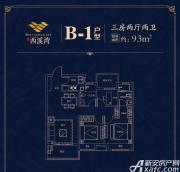 文一西溪湾B-13室2厅93㎡