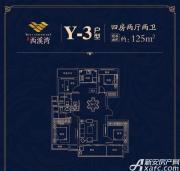 文一西溪湾Y-34室2厅125㎡