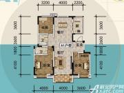 宜秀蓝湾A13室2厅142㎡