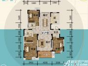 宜秀蓝湾B13室2厅138㎡