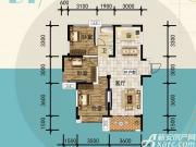 宜秀蓝湾D13室2厅105㎡