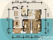 宜秀蓝湾D23室2厅90㎡