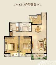 明天城市广场Cb-2 三室两厅一卫3室2厅97.92㎡