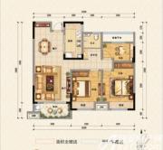 东方名城三房3室2厅97.71㎡