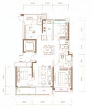 融创信达·政务壹号建筑面积约134㎡户型高层4室2厅134㎡