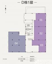 合肥启迪科技城D栋1层1275.33㎡
