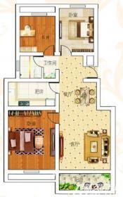 前城御澜湾G户型3室2厅99.5㎡