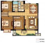 翰林公馆G13室2厅100㎡