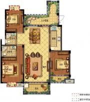 翰林公馆C13室2厅127㎡