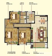 万成香格里拉C23室2厅129㎡