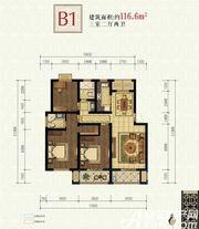 书香雅苑B13室2厅116.6㎡