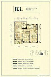 新安印象B32室2厅91.73㎡
