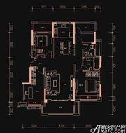 新华御府Y3户型3室2厅125㎡