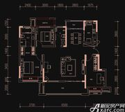 新华御府Y7户型3室2厅135㎡