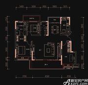 新华御府Y8户型3室2厅120㎡