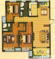 静安阳光城G1-A户型3室2厅128㎡