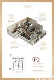 润城豪园F22室2厅88.5㎡