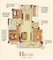 一里香溪H23室2厅119.19㎡