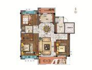 碧桂园翡翠湾YJ1153室2厅115㎡