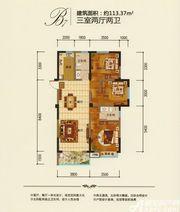 鼎鑫幸福城B73室2厅116.34㎡