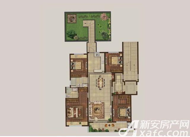 伟星·壹号院C24室2厅131平米