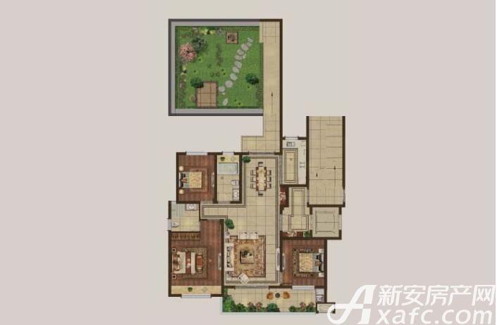 伟星·壹号院A23室2厅118平米