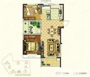 银湖福安家园E12室2厅86.45㎡