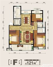金大地紫金公馆F3室2厅121㎡