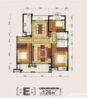 金大地紫金公馆E3室2厅126㎡