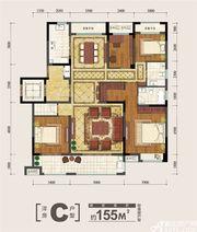 金大地紫金公馆C4室2厅155㎡