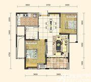 地矿龙山湖苑G-A12室2厅93㎡
