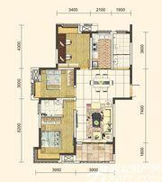 地矿龙山湖苑G-C13室2厅115㎡
