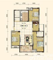 地矿龙山湖苑G-D14室2厅134㎡