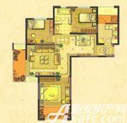中锐第一城中锐第一城U户型3室2厅106㎡