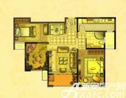 中锐第一城中锐第一城T户型2室2厅111㎡