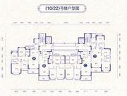 恒大御景10/22号楼户型4室2厅132.88㎡