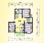 三一亚龙湾D户型3室2厅90㎡